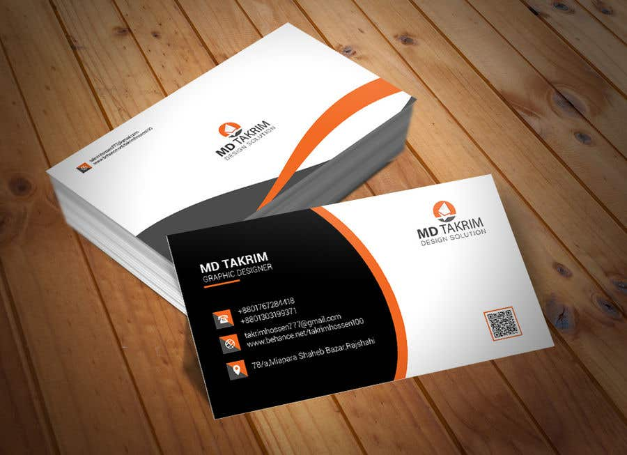 Contest Entry #494 for Graphic Design Business Card - Vertical or Horizontal Samples