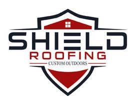 nº 57 pour Shield Roofing Logo par Mahmudmun11