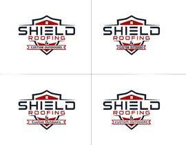 nº 123 pour Shield Roofing Logo par nayangazi987