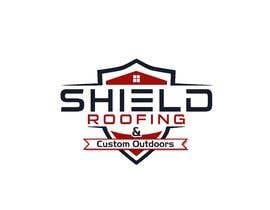 nº 125 pour Shield Roofing Logo par nayangazi987