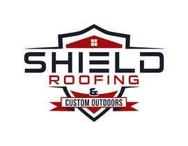 nº 143 pour Shield Roofing Logo par Ripon8606