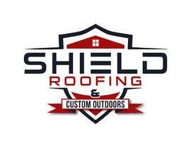 nº 147 pour Shield Roofing Logo par Ripon8606