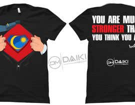#126 for Creative Round Neck Design T-shirt to sell ( Malaysian ) by peeyalrahman
