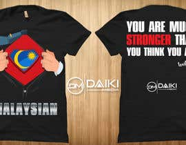 #137 for Creative Round Neck Design T-shirt to sell ( Malaysian ) by peeyalrahman