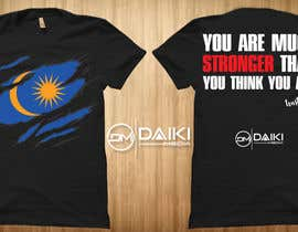 #172 for Creative Round Neck Design T-shirt to sell ( Malaysian ) by peeyalrahman