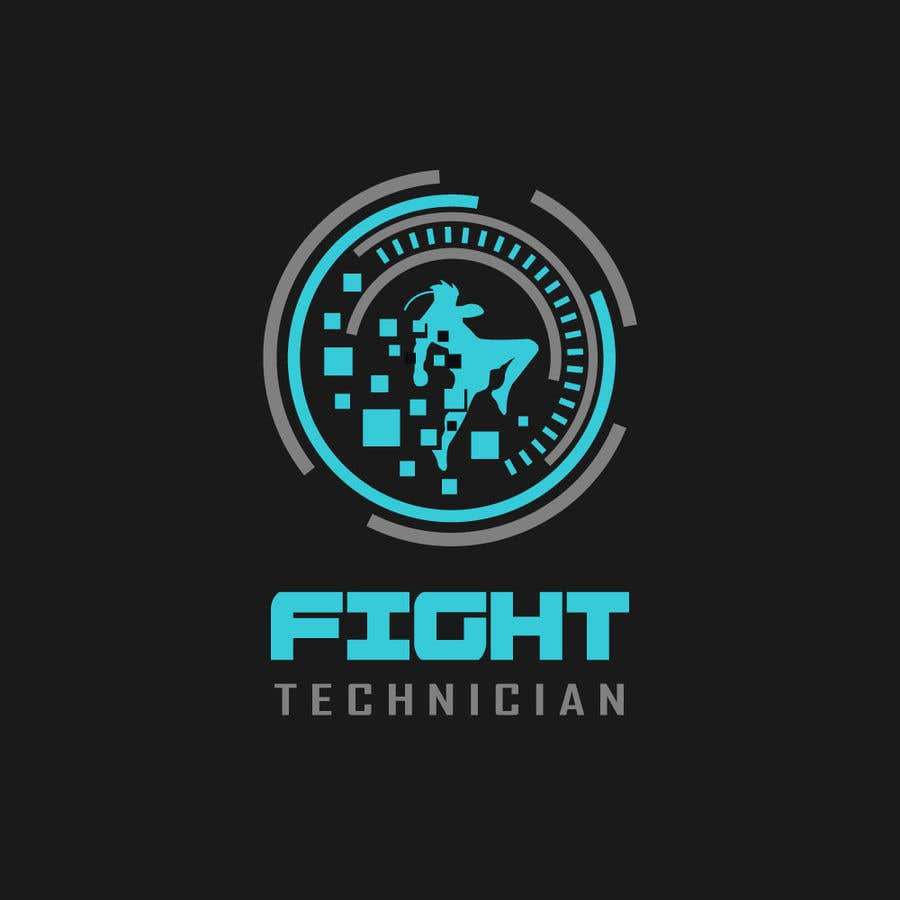 Penyertaan Peraduan #182 untuk Tech Themed Fight Blog Logo Design