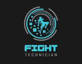 #182 untuk Tech Themed Fight Blog Logo Design oleh angapmik