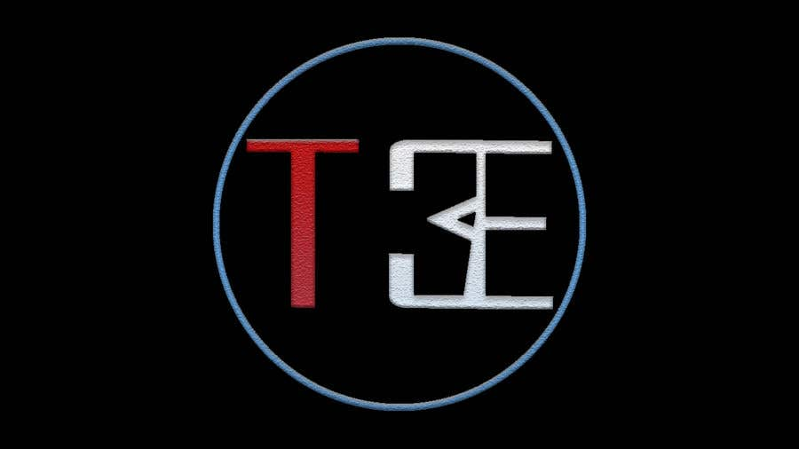 Contest Entry #121 for Logo with word: T3E using the following colors: white, red, light blue