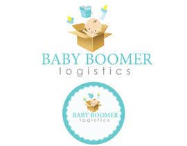 #16 para Logo Design for Baby Boomer Logistics, LLC. por kavutpal