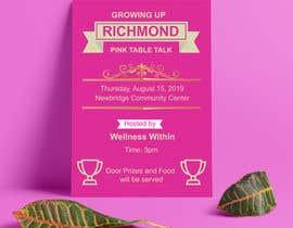 #110 cho Pink Table Talk Flyer bởi RobiulDesign30