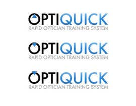 nº 23 pour Logo Design for OptiQuick - Rapid Optician Training System par santy99