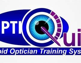 #39 untuk Logo Design for OptiQuick - Rapid Optician Training System oleh claush