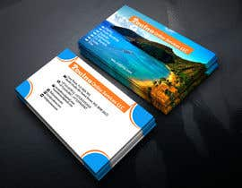 #32 for Business card for travel services  company by asrafhjnu