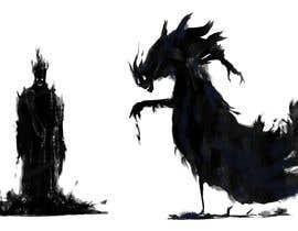 Nro 51 kilpailuun Evil cartoon silhouette käyttäjältä osama2681