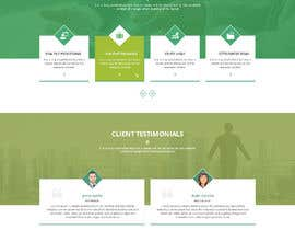 #38 for Design the layout of a business consultancy website by yasirmehmood490