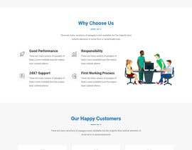 #27 for Design the layout of a business consultancy website by EmonAhmedDev