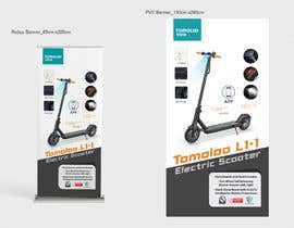 #110 untuk URGENT! HELP! Need Design 2 Banners for Electric Scooter oleh ShafiIndzyn