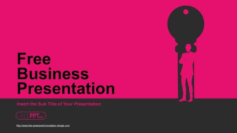 Penyertaan Peraduan #11 untuk Professional business PowerPoint template( pitch deck slides)