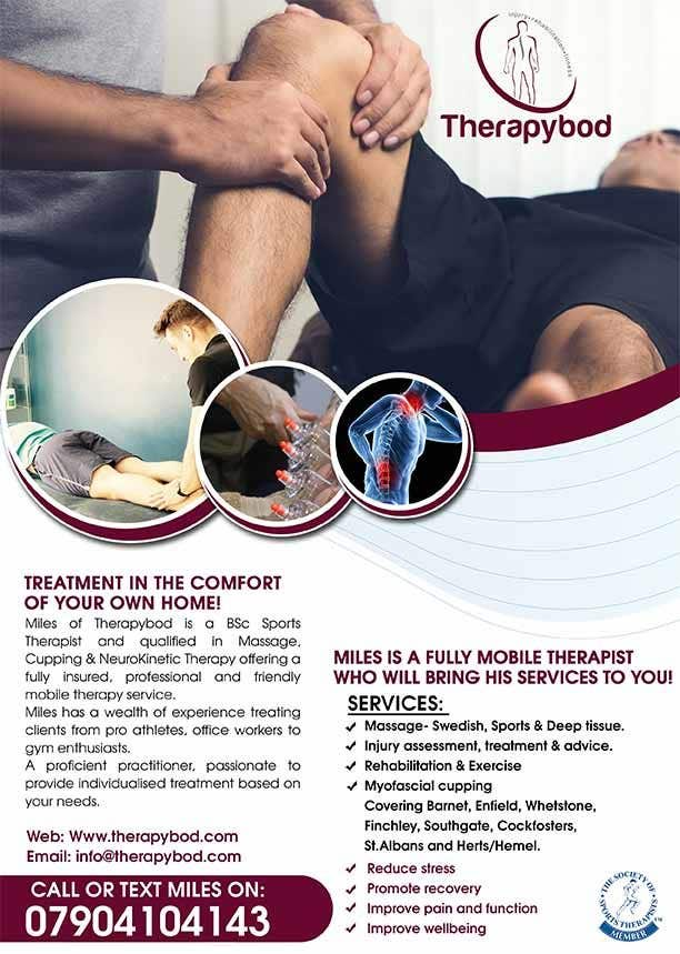 Contest Entry #89 for Flyer needed for therapy/massage business. High quality design and print clear.