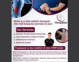 Nro 42 kilpailuun Flyer needed for therapy/massage business. High quality design and print clear. käyttäjältä hsabbir520