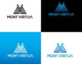 #3 cho Logo for MONT VIRTUA bởi hbakbar28
