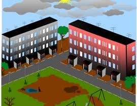 #2 for 2D game residential area level objects cartoon style af Romchych2018