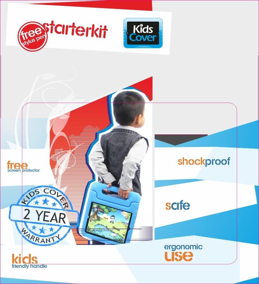 Konkurrenceindlæg #                                        12                                      for                                         Packaging Design for Shockproof Kids iPad Case