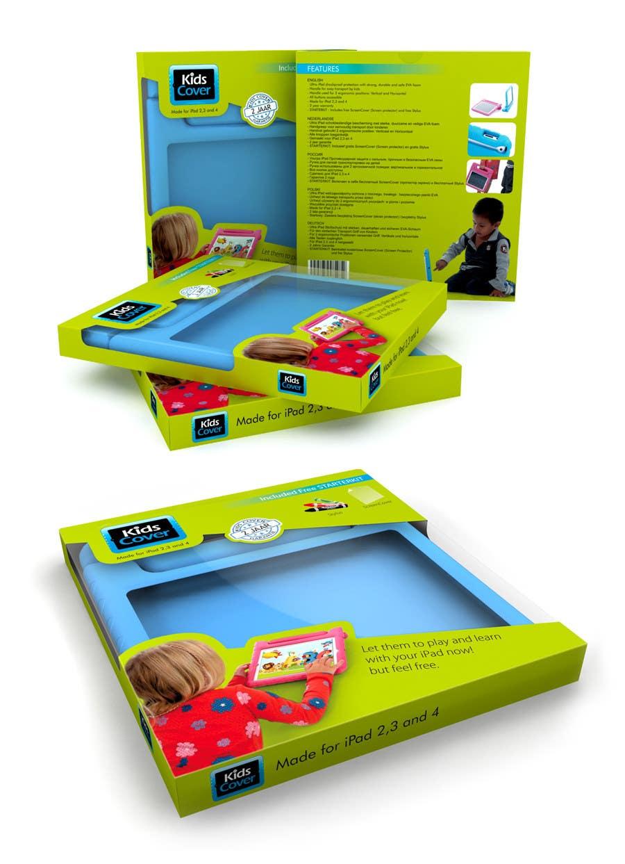 Konkurrenceindlæg #                                        2                                      for                                         Packaging Design for Shockproof Kids iPad Case