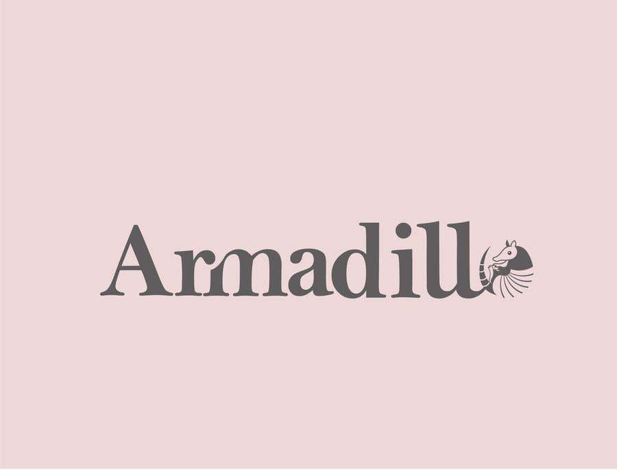 Penyertaan Peraduan #402 untuk Armadillo Logo