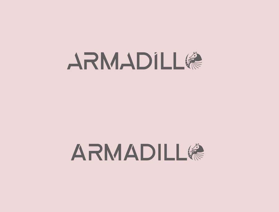 Penyertaan Peraduan #566 untuk Armadillo Logo