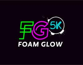 """#890 for Need logo for event called """"Foam Glow 5K"""" af xexexdesign"""