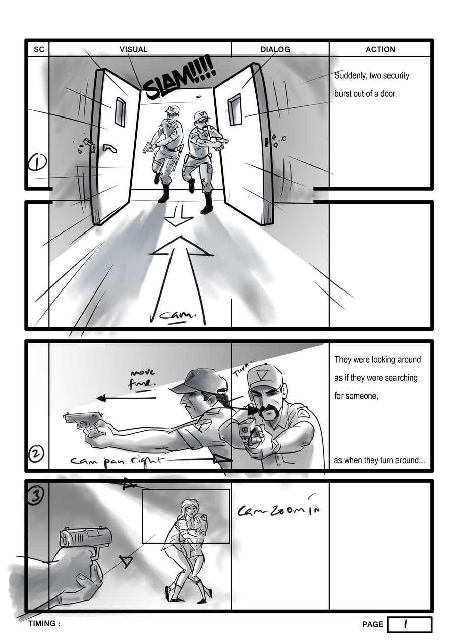Experience Storyboard Artist   Freelancer