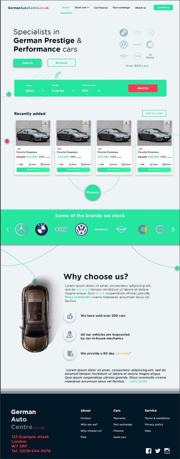 Used Car Dealer Fees >> Entry 52 By Shosharabi For Used Car Dealer Website Freelancer