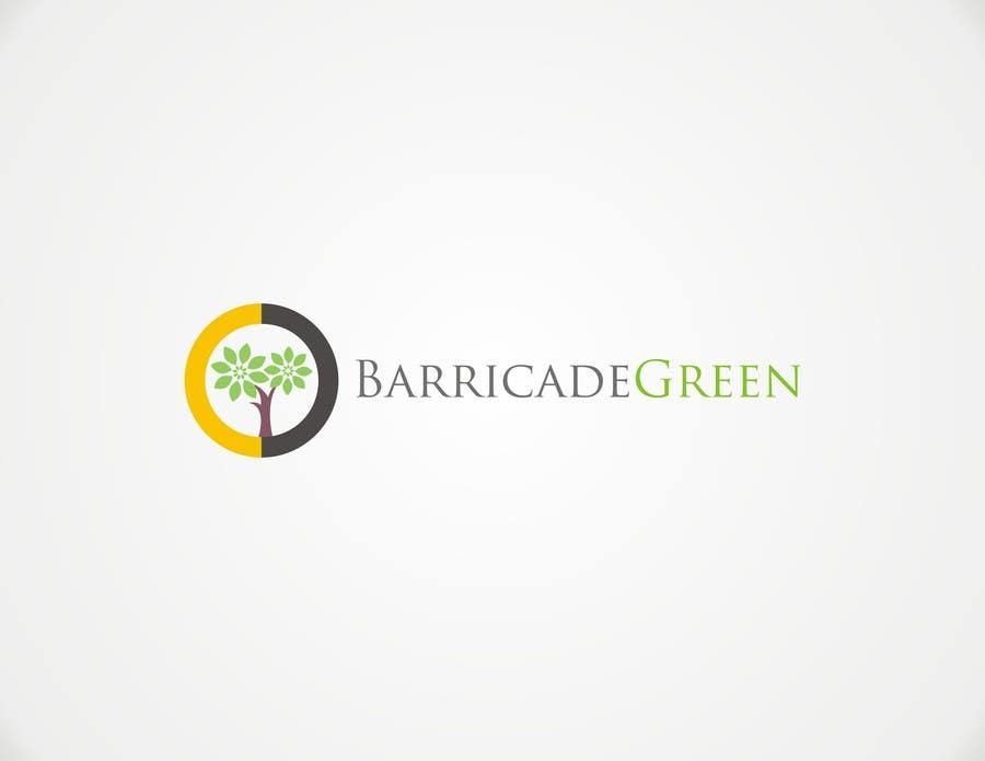 Kilpailutyö #                                        4                                      kilpailussa                                         Design a Logo for BarricadeGreen