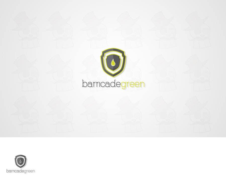 Kilpailutyö #                                        25                                      kilpailussa                                         Design a Logo for BarricadeGreen