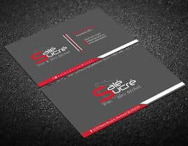 Nro 435 kilpailuun Design a business card käyttäjältä madadihasannoor