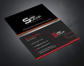 Nro 584 kilpailuun Design a business card käyttäjältä khadiza1998