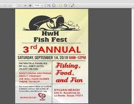 #29 untuk Fishing Flyer oleh rakibhero969