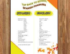 Nro 19 kilpailuun Design 1 page digital poster - Top Spanish Phrases for kids käyttäjältä Anam827642