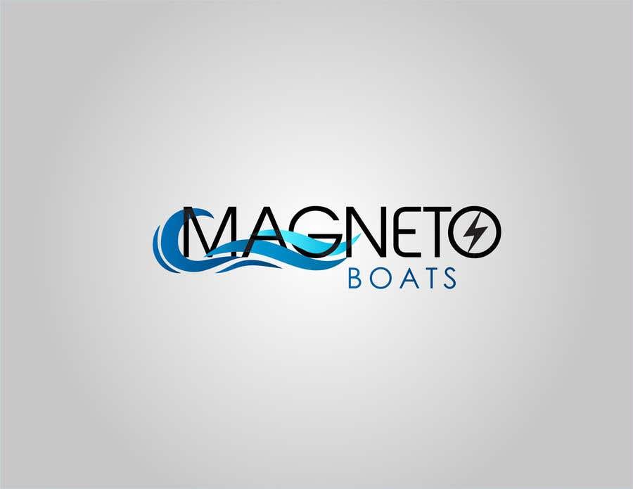 Penyertaan Peraduan #69 untuk Electric Surf boat logo design