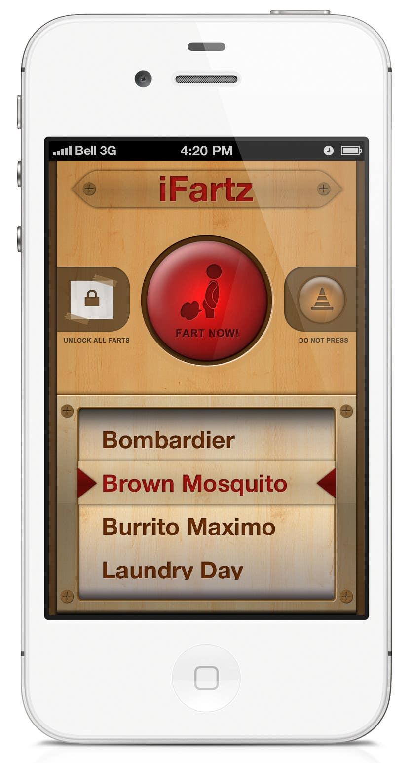 Bài tham dự cuộc thi #                                        4                                      cho                                         App Design for App Similar to iFart