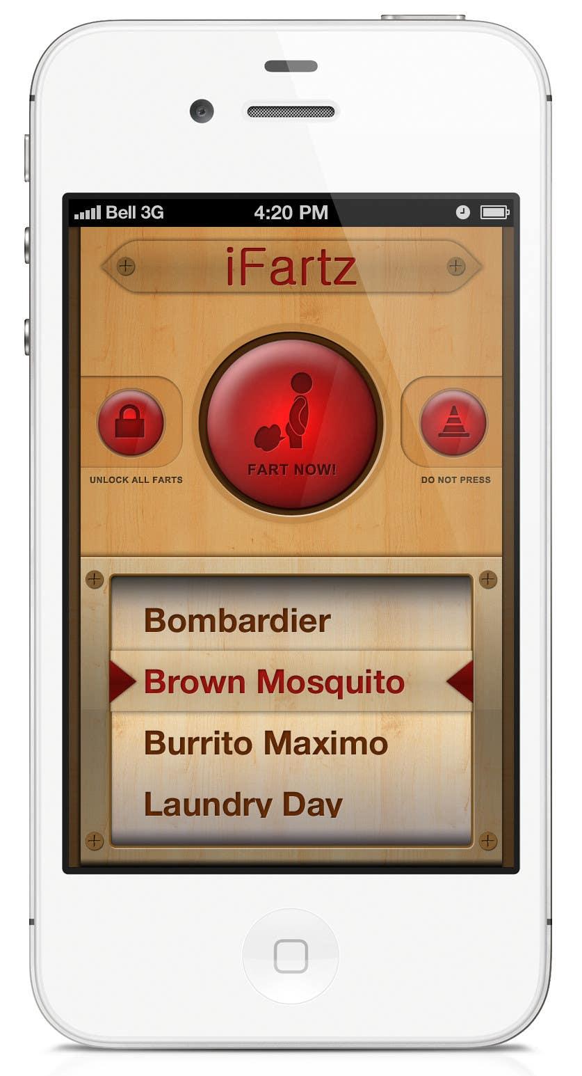 Bài tham dự cuộc thi #                                        5                                      cho                                         App Design for App Similar to iFart