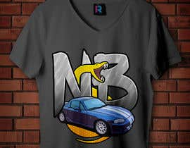 #22 untuk T-shirt design for Car Clothing - 02/08/2019 14:44 EDT oleh ianreverse