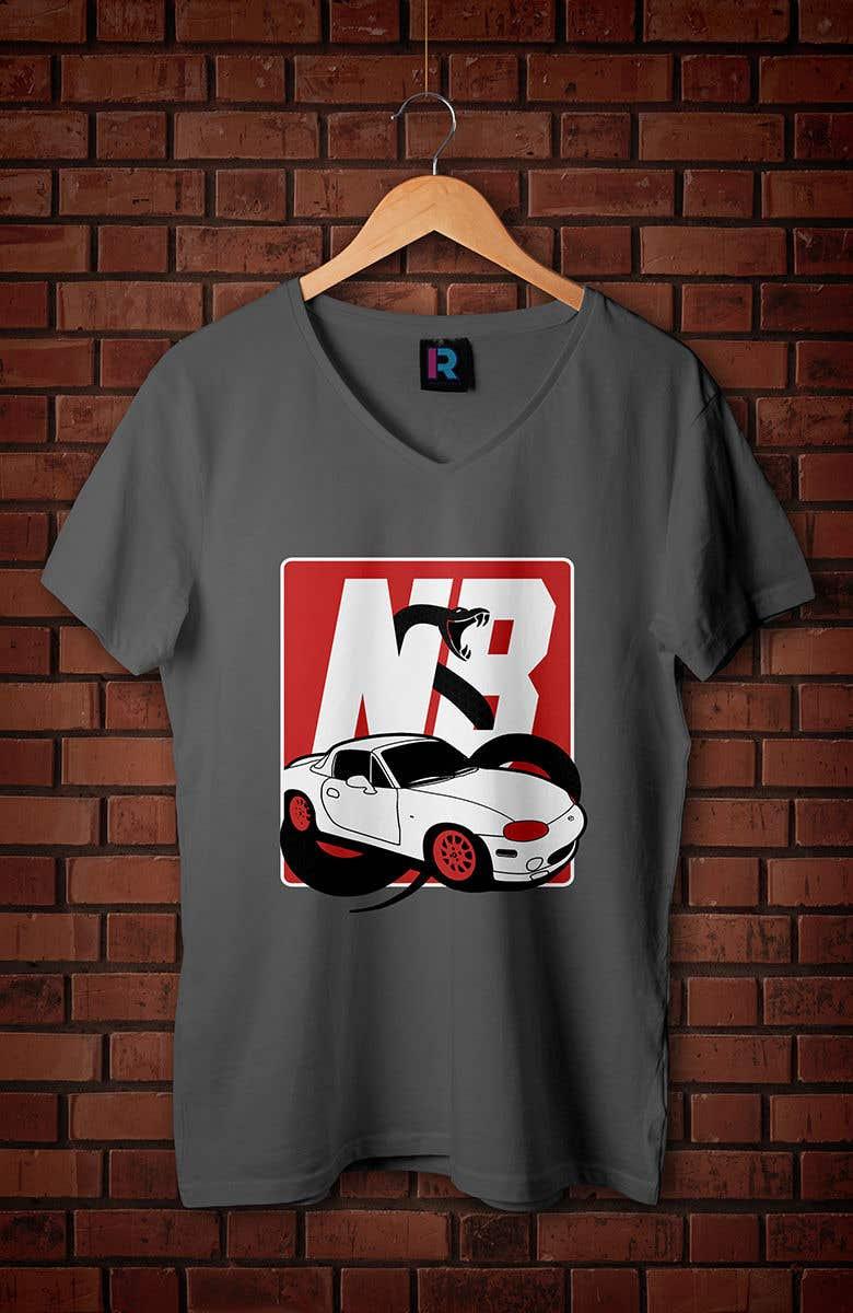 Penyertaan Peraduan #27 untuk T-shirt design for Car Clothing - 02/08/2019 14:44 EDT
