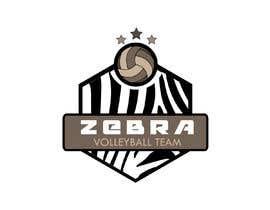 nº 33 pour Zebra Volleyball Image for Tshirt par almamun5436