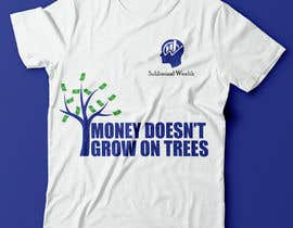 #23 para Design me a t-shirt for Subliminal Wealth por mohamedghida3