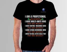 #31 para Design me a t-shirt for Subliminal Wealth por sifatara5558