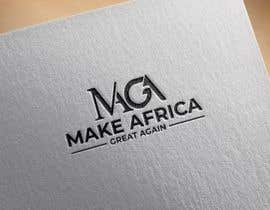 #103 untuk Make Africa Great Again (MAGA) - Logo Graphic Design oleh osiur120