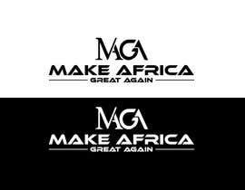 #202 untuk Make Africa Great Again (MAGA) - Logo Graphic Design oleh osiur120