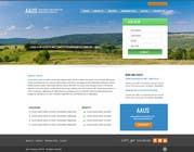 Graphic Design Kilpailutyö #7 kilpailuun Website Design for an Australian Association for Unmanned Systems